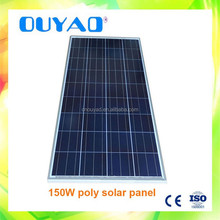 150W polycrystalline Solar Panel manufacturer price high quality