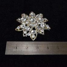 High quality hot-sale wedding opal stone flower brooch