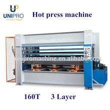 hot press machine for board woodworking machine