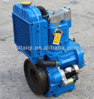 Vertical type QCH1105B water cooled single cylinder diesel engine