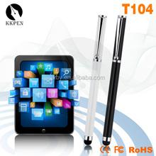 KKPEN metal stylus ballpoint pen for touch screens pvc pen pouches light pen