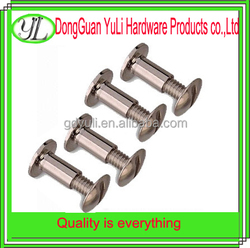 chicago screws combination male and female bolt