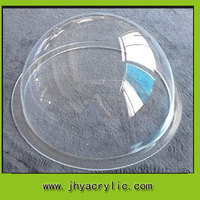 Clear Acrylic large plastic hemisphere half dome with different sizes