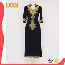 latest design women african fashion maxi casual dress