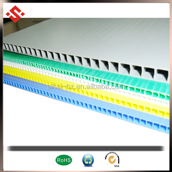 corrugated plastic pp sheets