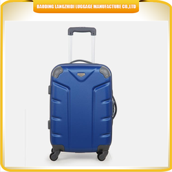 low price weekend luggage travel bag ABS high quality luggage trolley bag