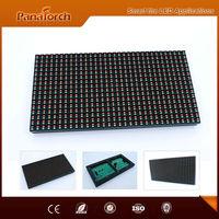 PanaTorch China Popular Products P10RG Led Moving Message Display IP65 Waterproof superior radiating