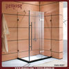 Home Bathroom Glass Sliding Screen, Shower Door Wholesale (DMS-R002)