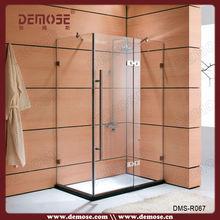 Home Bathroom Glass Sliding Screen, Shower Door Wholesale (DMS-R002)