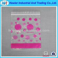 High Grade Clear Printed Ziplock Bag with Custom Retail Packaging
