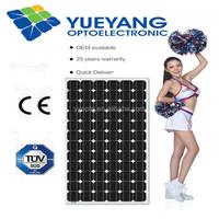 Solar Panel 190Wp Mono TUV/CE(215W-255W)