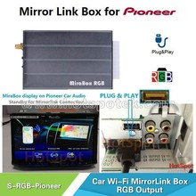 RGB Mirror link Box Universal Navigation Box for pioneer AVH-4000NEX