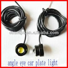 Newest type engle eye car led license plate light