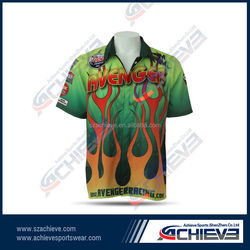 sublimation custom high quality Motorcycle & Auto Racing Wear jersey