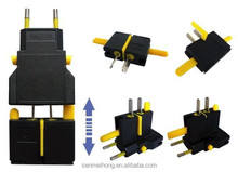 Hot selling universal travel adapter with ubs