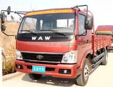Brand new WAW 4x2 diesel light truck 3 ton