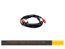 factory price high quality colorful rca cable