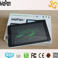 5 points capacitive touch screen 7 inch android tablet phone wholesale price in shenzhen factory