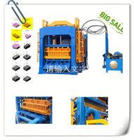 QT4-15 used jewelry casting machine price in india brick block machine