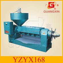 YZYX168 biggest Guangxin spiral corn oil press