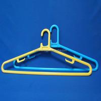 plastic hanger with sticker