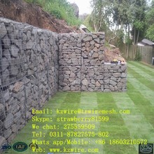 50mm Opening Gabion Wall, 3.5mm Hot-dipped Galvanized Wire Diameter
