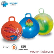 PVC material inflatable jumping ball hopper ball with colorful logo