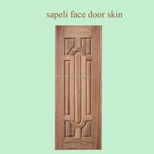 melamine hdf moulded door skin used for interior door