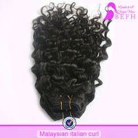 Not Short-tempered kinky hairpiece for black women human hair curly hairpieces