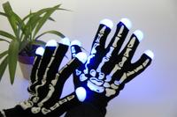 7 mode led gloves rave light finger lighting flash