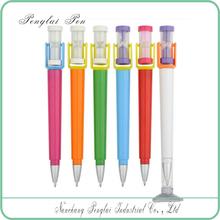 wholesales Promotional featured sucker desk pen sandglass table pen