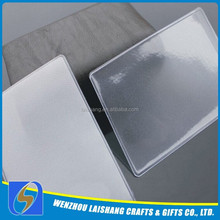 Plastic Clear ID Card Cover