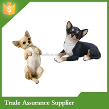 Chihuahua statues ornaments - resin garden ornaments wholesale