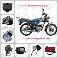 Suzuki motorcycle engine parts AX100
