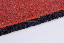 colorful epdm synthetic rubber running track