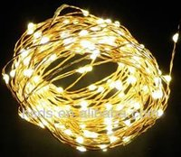 2014 New Christmas Decorations Battery Powered Led Copper String Lights