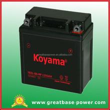 YB3L-BS 12v 3Ah maintenance free MOTORCYCLE battery gel battery sealed battery