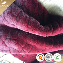 2014 New fashion desine soft beautiful colorful faux rabbit fur