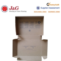 New Arrived strong T-shirt packaging box and craft carton box