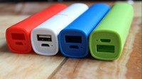 promotional gift cheap price 2200mah cylindrical portable power bank