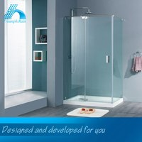 High-End Handmade Best Price Acrylic Tray Accessible Shower Doors