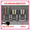 aluminium folding ladder stand EN131 AS/NZS SGS