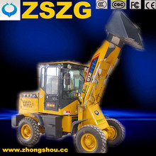 Joystick control 912 wheeled loader with Quick hitch attachment
