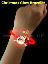 Santa Claus glow bracelet bangle with 2PCS 5x200mm Glow Sticks