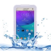 wrist mobile phone case waterproof dirtproof shockproof durable case cover for samsung galaxy note 5