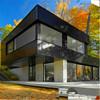Luxury steel structure prefabricated villa & prefab villa