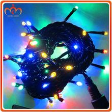 PVC Cable christmas ornaments 100 led light string