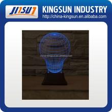 Customized shape 3d vision night light