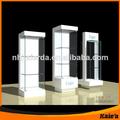 2014 preço de fábrica de vidro de madeira armário de exposição, cigarro armário de exposição