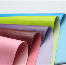 color change PVC thermo leather for gift box,diary cover